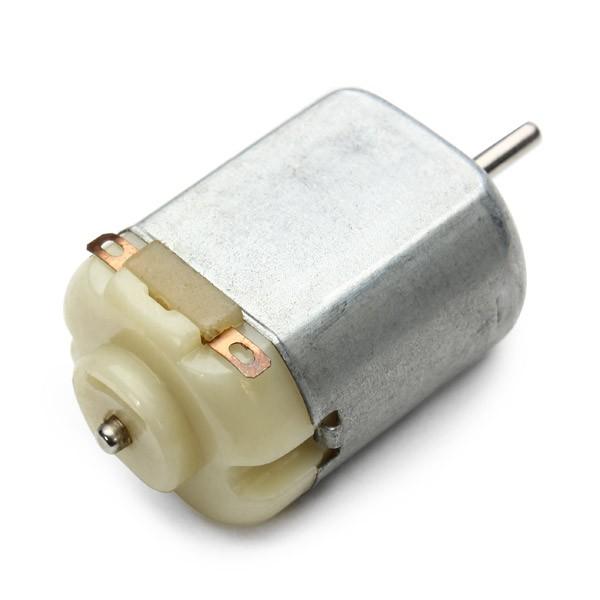 آرمیچر 6 ولت موتور DC مخصوص اسباب بازی Dc Motor پشت سفید