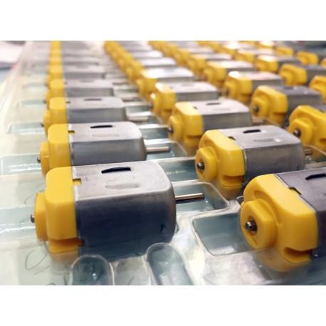 موتور آرمیچر اسباب بازی پشت زرد 6 تا 12 ولت DC