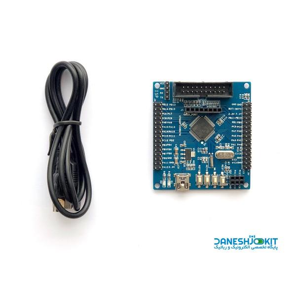 برد STM32F103RCT6 بر پایه پردازنده ARM Cortex M3 MCU
