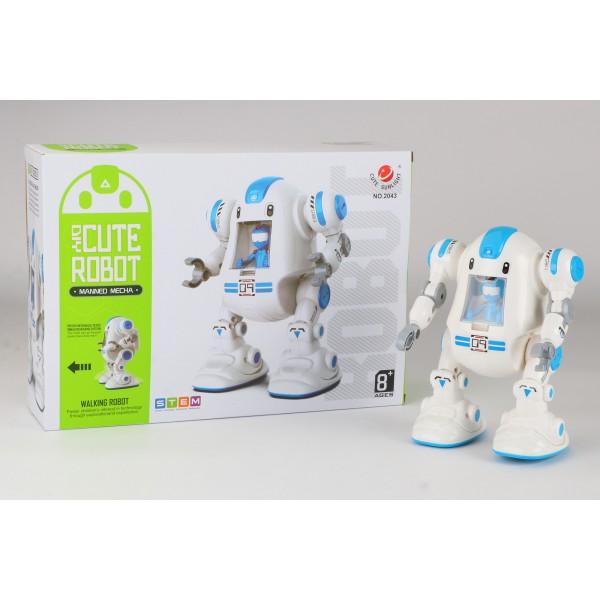 کیت ربات حرکتی DIY CUTE ROBOT