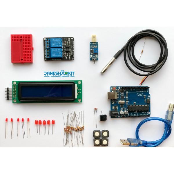 کیت دما و رطوبت بر پایه آردوینو Arduino