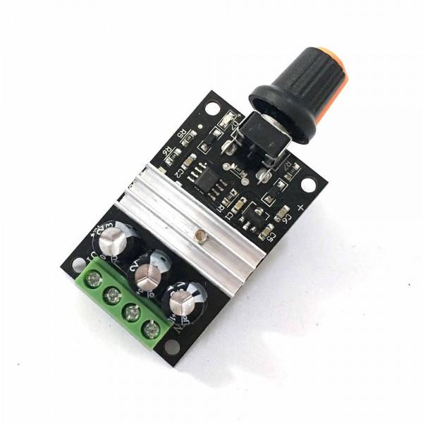 ماژول کنترلر سرعت موتور PWM DC 6V 12V 24V 28V 3A DC Motor Speed Control Switch Controller Adjustable