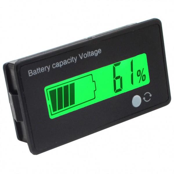 ماژول نمایشگر سطح شارژ باتری پنلی با قاب Battery Capacity / Voltage