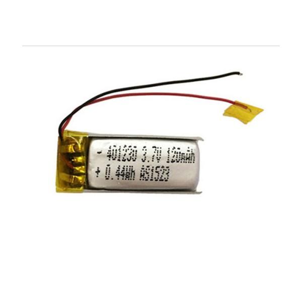 باتری لیتیوم پلیمر Li-Po 3.7V 120mAh تک سل 9x20mm
