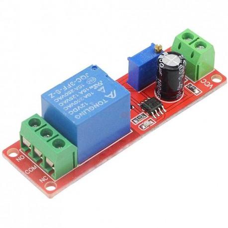 ماژول تایمر 12 ولت IC NE555 قابل تنظیم بین 0 تا 10 ثانیه