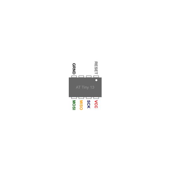 میکروکنترلر AVR اتمل Tiny13A