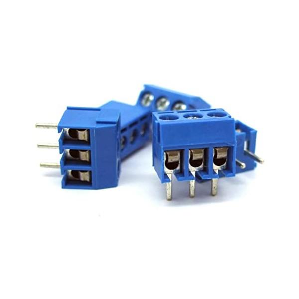 کانکتور 3 پایه 300 ولت 16 آمپر 3pin Screw connector