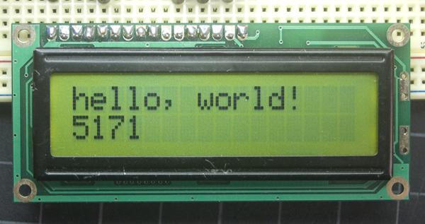 آموزش جامع کار با LCD کاراکتری در آردوینو
