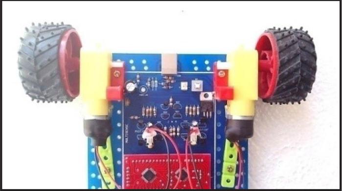 ربات هوشمند مالتی سنس | دانشجو کیت