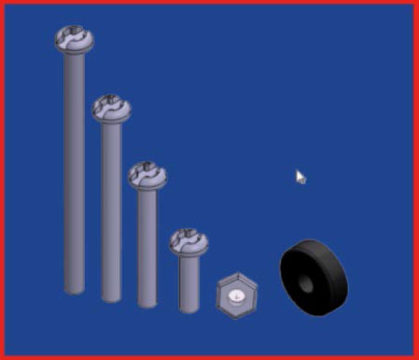 پیچ و مهره های ربات ماژولار مالتی تک | دانشجو کیت