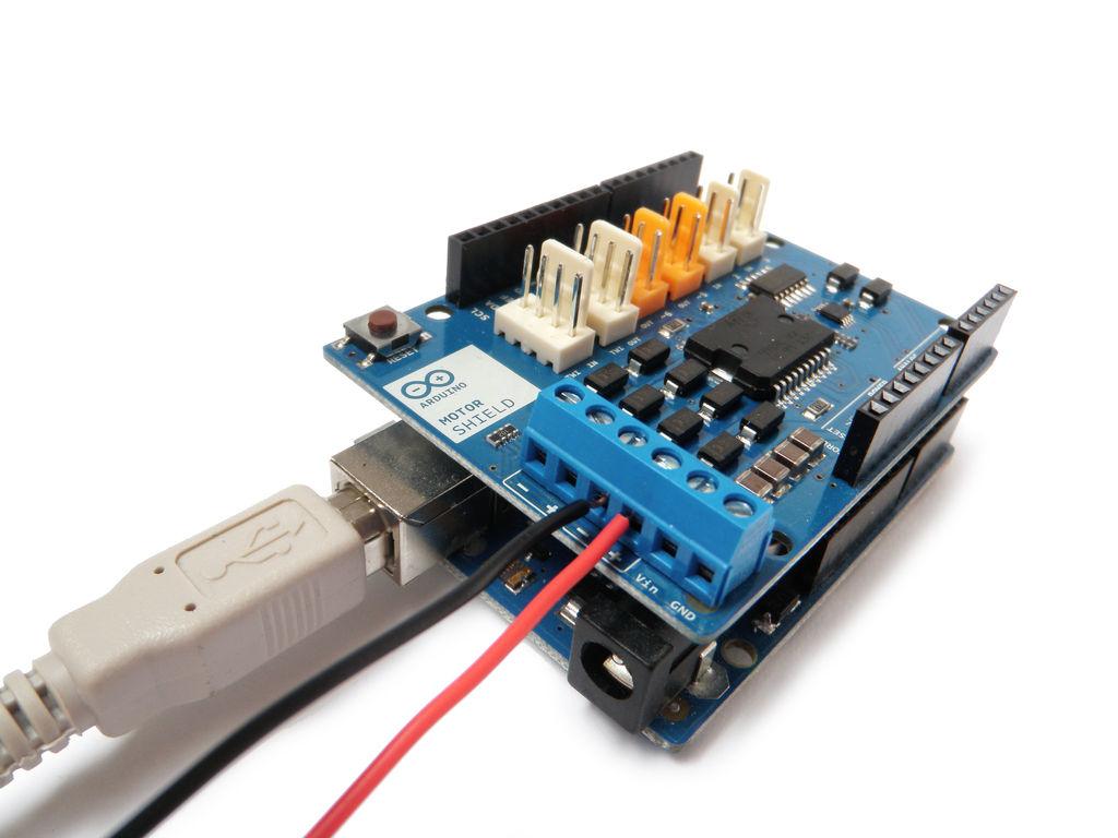 برد آردوینو موتور شیلد Arduino Motor Shield