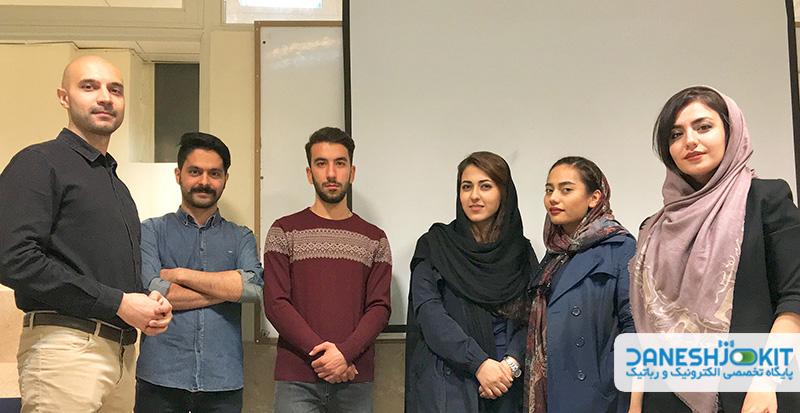 دومین دورهمی اسپارکرها 10 آبان 1397 تهران - دانشجو کیت